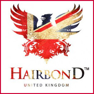 Hairbond UK styling products are available at Trichomania and POP